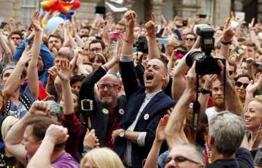 Vatikan Kecam Referendum Pernikahan Sesama Jenis Irlandia