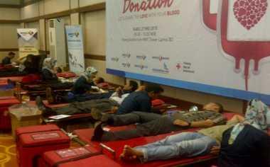 Karyawan MNC Group Antusias Ikuti Donor Darah