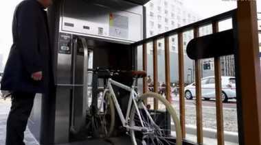Lift Sepeda Bawah Tanah cuma Ada di Jepang