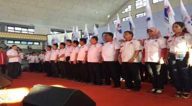 HT Lantik Pengurus Perindo Jawa Timur