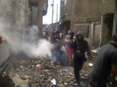 Kebakaran di Tambora Padam, Penyebabnya Korsleting Listrik