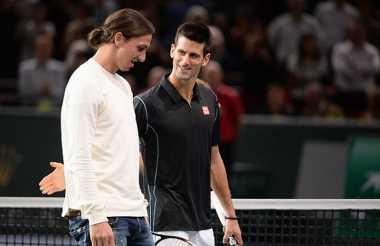 Ibra Saksikan Laga Djokovic di French Open