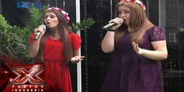 Jebe & Patty, Dua Bule yang Lolos ke Gala Show