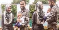 Ramadan Shireen Makin Lengkap Bersama Anak