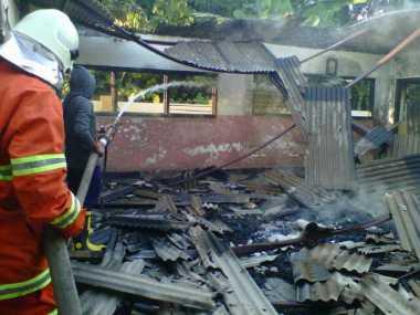 Gedung SD di Bangkalan Terbakar