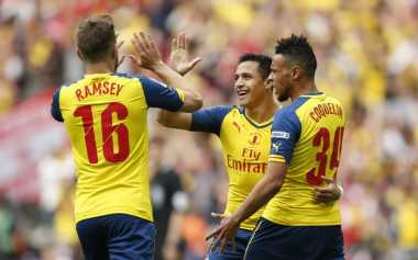 Alexis Sanchez Buat Wembley Bergemuruh