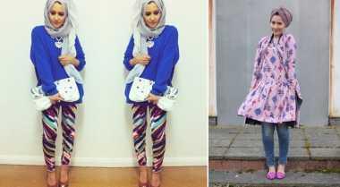 Penampilan Fashionable Hijaber London