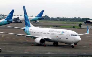 Pesawat Garuda Diduga Tergelincir karena Cuaca Buruk
