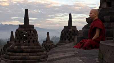 Patung Buddha Penuhi Candi Borobudur