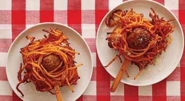 Resep Spaghetti on Stick Camilan untuk Buka Puasa