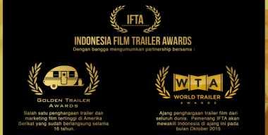 Penghargaan Trailer Film Pertama Hadir di Indonesia