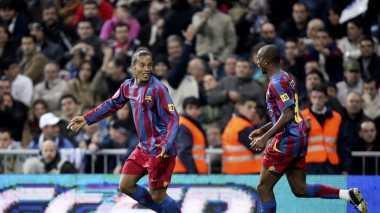 Klub Turki Ini Ciptakan Reuni Eto'o-Ronaldinho