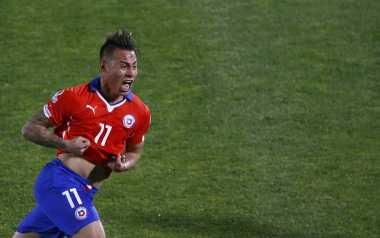 Gol Spektakuler Vargas Setelah Cedera Parah