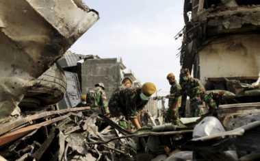 Penjelasan TNI AU soal 142 Kantong Jenazah Korban Hercules