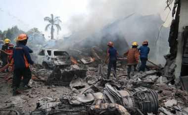 Puluhan Jenazah TNI AU Diterbangkan ke Riau dan Jakarta