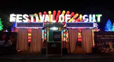 Festival of Light Jakarta Fair Kemayoran