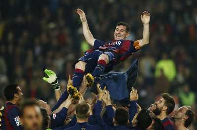 Messi Ungguli Maradona, Barca Pemecah Rekor