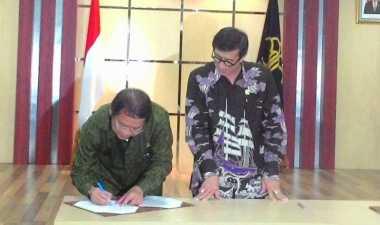 Dua Menteri Tandatangani Peraturan Hak Cipta di Dunia Maya