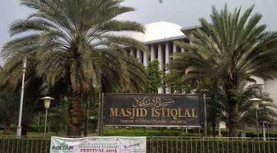 Ternyata, Masjid Istiqlal Menghadap ke Monas