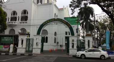 Tanggal Ini Masjid Cut Meutia Bakal Ramai