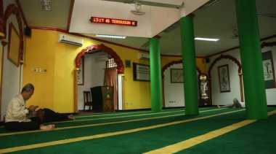 Masjid Lautze Sekilas Berbentuk Klenteng