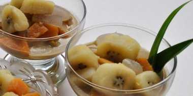 Kolak Hidangan Berbuka Favorit Difin Lyla