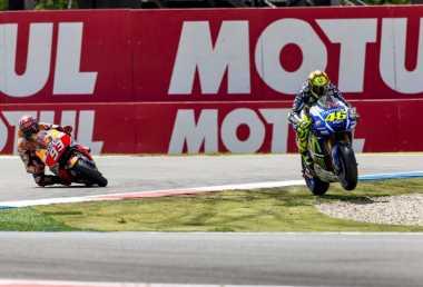 Retaknya Hubungan Rossi dan Marquez