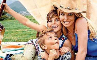 Begini Cara Britney Spears Menghabiskan Waktu dengan Anak-anaknya