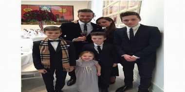 David dan Victoria Beckham Romantis di Ultah Pernikahan