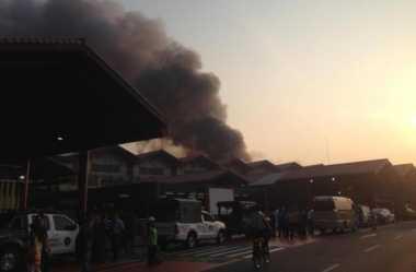 Kebakaran di Bandara Soetta Berhasil Dipadamkan