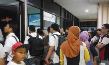 Bandara Soetta Terbakar, Penerbangan Garuda dari Semarang Ditunda