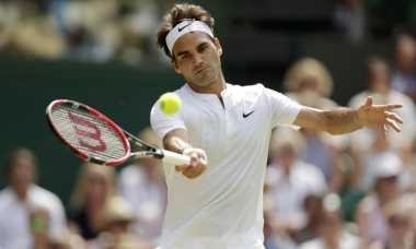 Federer Melaju Mulus ke Babak Delapan Besar