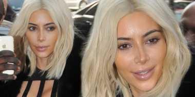 Rambut Kim Kardashian Kembali Jadi Pirang?