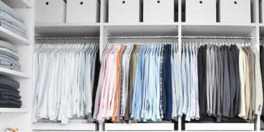 Langkah Mudah Bereskan Lemari Pakaian