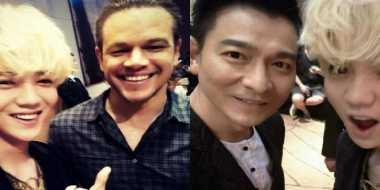 Matt Damon dan Andy Lau Takjub Lihat Popularitas Luhan