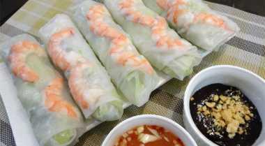 Lezat & Sehatnya Vietnames Spring Roll
