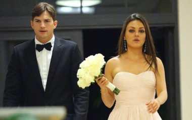 Ashton Kutcher dan Mila Kunis Resmi Menikah