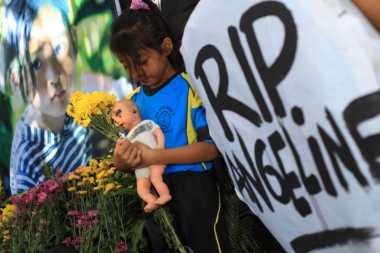 Satu Kompi Polisi Amankan Rekonstruksi Pembunuhan Angeline