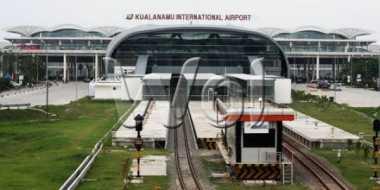 Calo Tiket Marak Jelang Lebaran di Kuala Namu