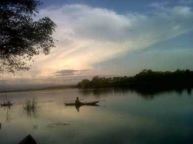 66.000 Ekor Ikan Mas Ditebar ke Danau Talaga