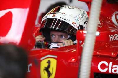 Tanpa Hujan Ferrari Tidak Ada di Podium