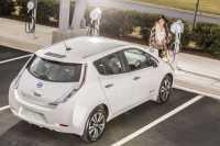 Pamor Nissan Leaf Naik Berkat Fasilitas Stasiun Pengisian Listrik