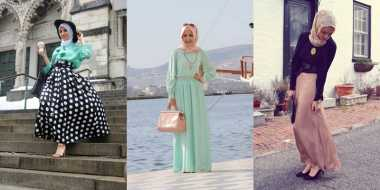 Padu Padan Maxi Dress untuk Hijabers