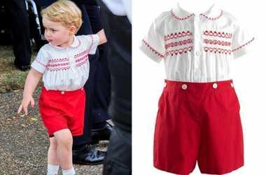 Baju Pangeran George Habis Terjual dalam Waktu Singkat