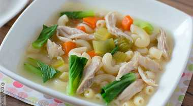 Resep Sup Makaroni Tofu untuk Sahur