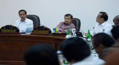 Jokowi-JK Bukber di Mabes TNI