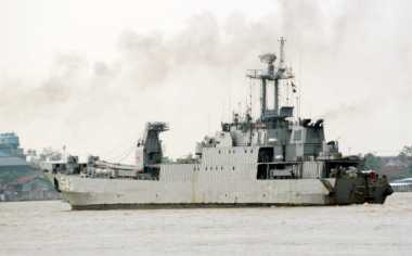 TNI AL Tangkap Kapal Nelayan Malaysia