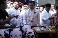 HT Resmikan Posko Mudik Perindo di Cirebon