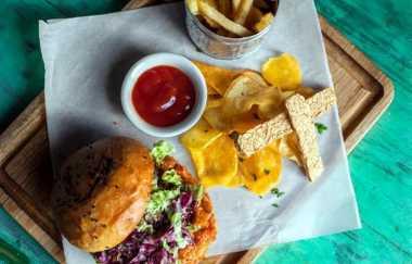 Resep Burger Tempe Nikmat & Praktis