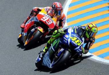 Penting bagi Rossi Mengalahkan Pembalap Ini